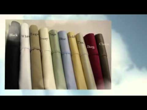 Luxury Bedding - Bamboo Sheets - Imported Egyptian Cotton Sheets - Complete Bed in a Bag
