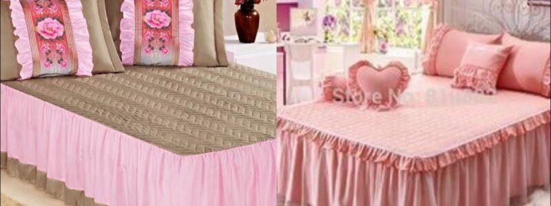 Luxury Bedding Set/ Duvet Cover/   very impressive Bridals bedsheet designs/ Frilly bed sheets