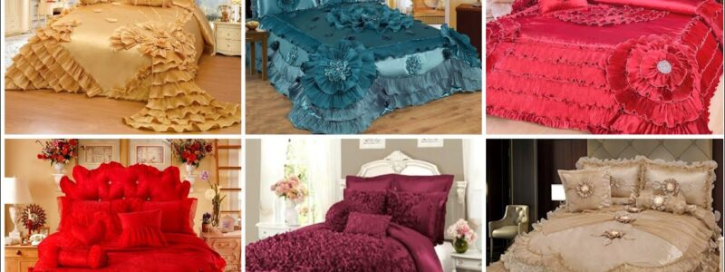 luxury bedding and bedding set // finest luxury bed sheets collection/Bridal Bedsheets